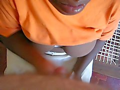 Afrikkalainen House Maid Hand Job