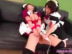 Lesbian Maids in Uniform