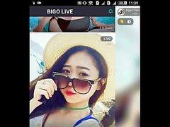 vn Em Khánh bum show hàng tuột váy Bigo live show hàng
