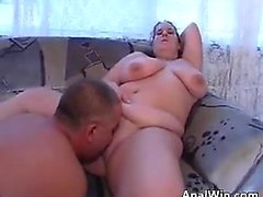Fat Woman Gets Her Pussy And Ass Licked