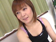 Asya eşi Kaho Kitayama her iki delik de horoz istiyor