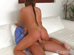 Castingxxx Cute young babe gets spunked