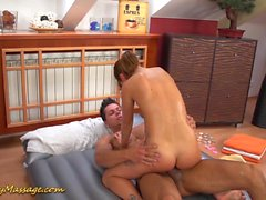 slippery nuru massage couple