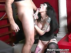 Wild Mature Hoe Freyja Van Siren Gets Banged Hard