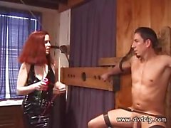 Horny Mistress Dominating Guy