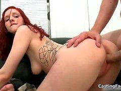 Skinny amateur girl gets fucked hard
