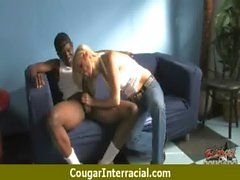 Black cock in hot nasty cougars pussy 27