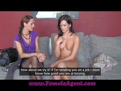 FemaleAgent Cautious but trusting