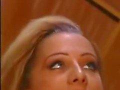 Alex Sanders enjoying a blonde on the set