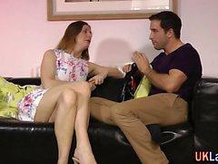 Older stockings brit jizz