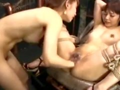 Lesbian Pissing and Fisting Asian Style