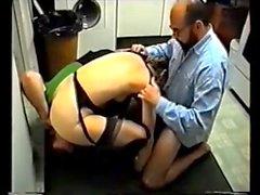 British Swinger threesome (sorry, no sound)