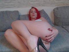 Sexy Striptease in Calvin klein unterwäsche