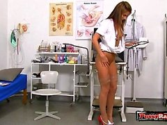 Natural tits nurse gaping and cumshot