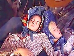 "Patty Page hot outdoor sex: scene from ""Carovana della Violenza"""