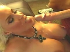 DIAMOND FOXXX Swallowing Compilation