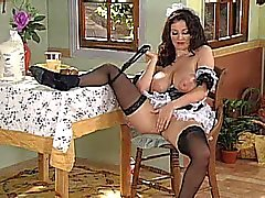 Lorna Morgan as French Maid