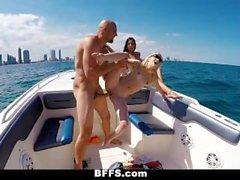 BFFS - Wild Spring Break Teens Fuck on Boat