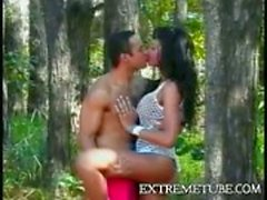 Hot anal sex in the forest