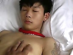 Asian Boy cute Branlette consolidée