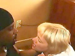 Sexy black man places i and gets his large black cock sucke
