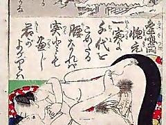 Japanese Ukiyo arte de época
