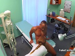 Sexy nurse fucked patient stud