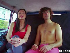 Aletta Ocean gets naughty in bang bus