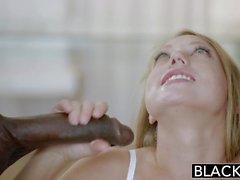 Asistente Personal Blacked Rubia Shawna Lenee ama a los hombres negros