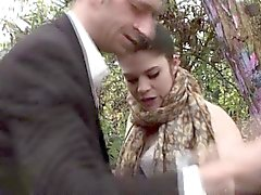 Outdoor facefucked british submissive cumswallowing