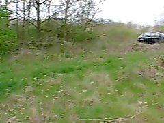 French Slut A3 beurette car