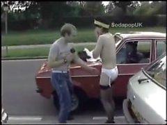 Public Nude traffic warden