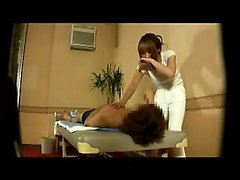 Sensual Japanese masseuse with perky breasts is addicted to