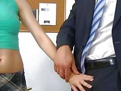 Girl forced to suck dick