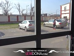 Lexidona - Heta bruden Lexi Dona och Gina Gerson suga kuk