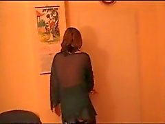 Duitse bbw roodharige wordt geneukt door haar buurman