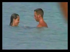 Very Hot Couple on Beach BVR