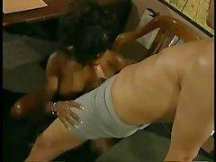 Vanessa Blue - Busty Black Babe...