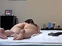 Fat Wifes Pussy Eaten and Fucked on Hidden Cam