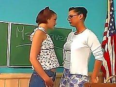 Lesbische Lehrer fickt sie Schüler
