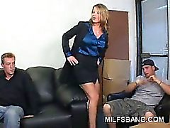 Naughty Milf Striptease