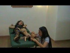 Spy Tickling Interrogation