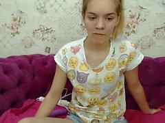 Slave blonde live masturba brinquedos mostra na webcam