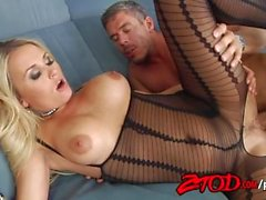 Laura Cristal Crotchless Creampie