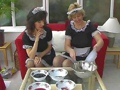 sara and mitzi sexy maids