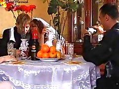 Pornô do casamento russo