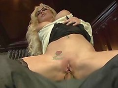 christie stevens hot secretary getting anal