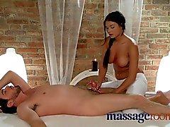 Massage Rooms Innocent sexy masseuse fucking