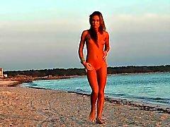 Bikini Girl in the Beach