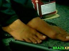 Naked Brazilian Girls Feet